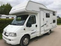 Compass Avantguarde 160 6 Berth 6 Seat Belts Only 20300 Miles 20ft Motorhome
