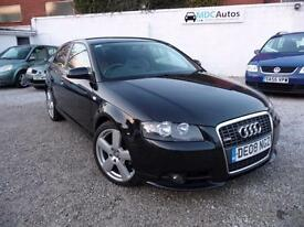 2008 Audi A3 2.0TDI S Line, 1 OWNER, FULL HISTORY, CAM BELT DONE, LEATHER EW CD