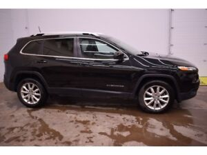 2016 Jeep Cherokee LIMITED 4X4 - NAV * BACKUP CAM * LEATHER
