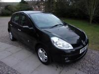 RENAULT CLIO 1.2 expresion 2008 Petrol Manual in Black