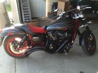 2007 Kawasaki Vulcan meanstreak