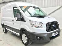 2015 FORD TRANSIT L2H2 MEDIUM WHEELBASE MWB SEMI HIGH AIR CON 125PS T330