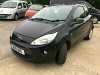 2010 Ford KA 1.2 Style+ Manual Black Low Mileage £30 Tax Just Been Serviced