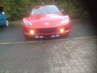 Mazda rx8 2007 6 speed manual 231bhp