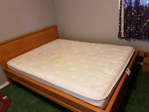 Bed ,mattress and study table for sale