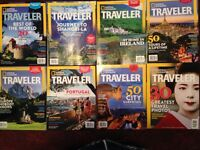 NATIONAL GEOGRAPHIC TRAVELLER MAGAZINES