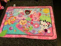 Baby girls fisher price play mat