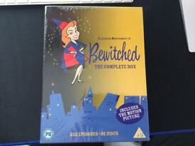 Bewitched + Aliens DVD Box sets