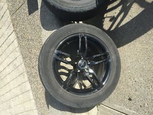 17 inch Tires and rims for sale Prince George British Columbia image 2
