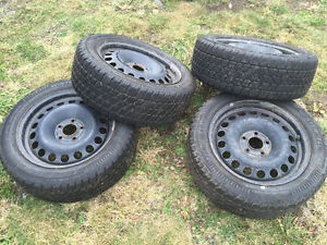 205/55r16  winter tires and wheels chevrolet / pontiac