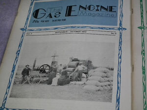 OLD GAS ENGINE AND TRACTOR MAGAZINES MINT . Windsor Region Ontario image 9