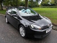 Volkswagen Golf MATCH TDI++1 OWNER VERY LOW MILEAGE++ (black) 2012
