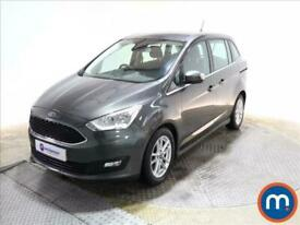 2017 Ford Grand C-Max 1.0 EcoBoost 125 Zetec Navigation 5dr People Carrier Petro