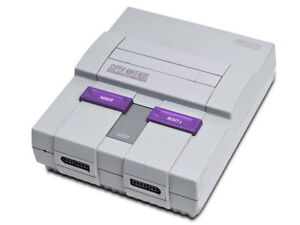 Looking for a Super Nintendo Console w/ hookups and controller