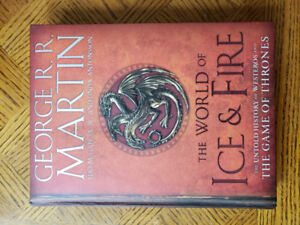 George R. R. Martin The World of Ice & Fire (Game of Thrones)
