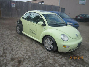 JUST IN FOR PARTS 2001 VW BEETLE @ PICNSAVE WOODSTOCK! FOR PARTS