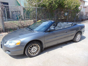 2005 CHRYSLER SEBRING CONVERTIBLE COUPE