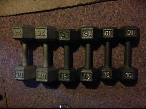 6 Piece Weight Set