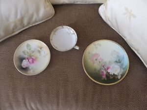 GORGEOUS OLD PLATES-GREAT SHAPE