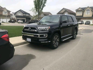 2018 4 runner limited 5 seats lease trasnfer 4000 incentive!!