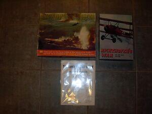 Board Games- Strategy Games- War Games- Vintage