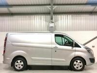 2017 FORD TRANSIT CUSTOM LIMITED 170 BHP SILVER SWB L1H1 170PS LIKE SPORT