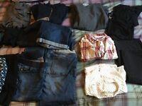 Job lot Maternity clothes size 12/14