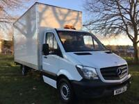 Mercedes Sprinter 313Cdi 3.5T Transit Size 15FT Luton Box Van Tail Lift