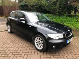 BMW 120 2.0TD SE 5D 161 BHP DIESEL full mean dealer service histoy