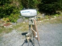 Outboard Motor - 2.2 HP