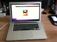 MacBook Pro 15 - late 2011 - 2.2ghz i7