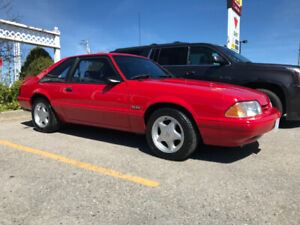 1992 Ford Mustang LX Low Kilometres 5 speed