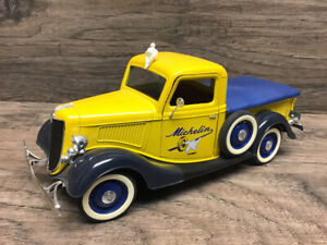 1:18  Diecast 1936 Ford Pick Up Michelin Tires