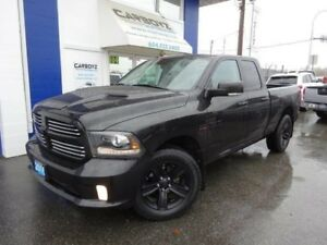 2016 Dodge Ram 1500 Sport 4x4, Quad Cab 6.5 Box, No Accidents