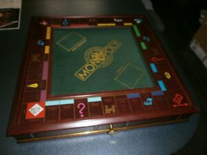 THE FRANKLIN MINNT MONOPOLY COLLECTOR'S EDITION DELUXE=1991