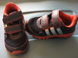 Size 8 toddler Adidas sneakers