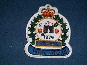 ROYAL CANADIAN AIR CADET PATCH-FORT SEBAS-1979-SURVIE-SURVIVAL