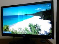 *URGENT* 20'' Acer widescreen LCD Monitor+power cord+VGA cable