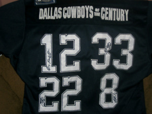 Dallas Cowboys of the Century jersey