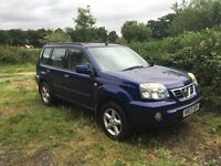 NISSAN X TRAIL SE PLUS AUTO 2003 NEEDS ENGINE FULLY LOADED