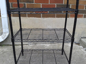Black Wire Bakers Racks