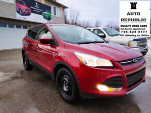 2015 Ford Escape SE, 4WD, CERTIFIED, Accident Free, Single Owner