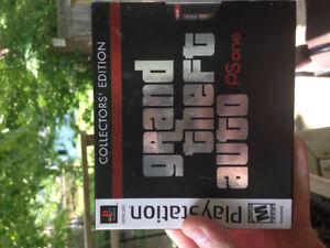 GTA collectors edition PS1 3 disk set