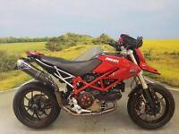 Ducati Hypermotard 1100S **FULL CARBON FIBRE SPEC, TERMIGNONI EXHAUST, BOBBINS**