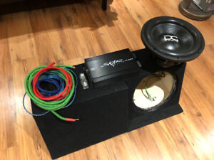 BRZ, FRS Subwoofer Bass Package