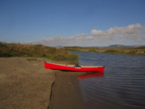 Canoe CLIPPER scout rouge, 15'10''