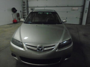 2007  Mazda6 Wagon ONLY 67000 KMS