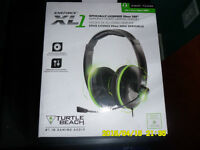Earforce XL1 amplified stero gaming headset