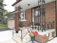 Renovated Detached Home For Rent (Royal York Gardens Etobicoke)