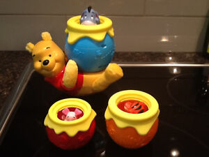 Winnie the Pooh Stacker Toy / New Condition